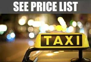 Taxi Valencia: Price List