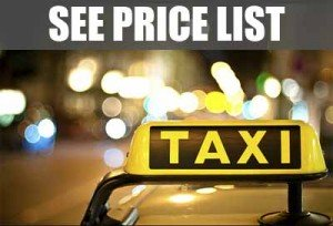 Taxi Valencia: Price List
